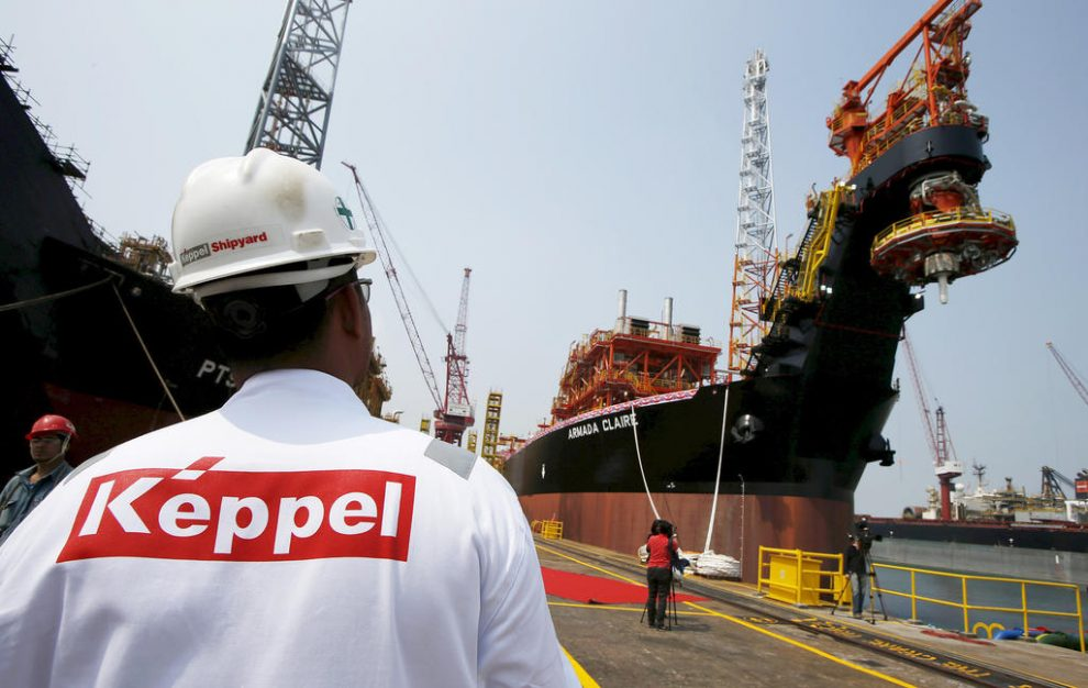 Keppel to upgrade first production barge for KrisEnergy's
