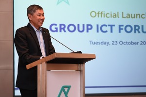 Redza Goh, Petronas Group Chief Information Officer