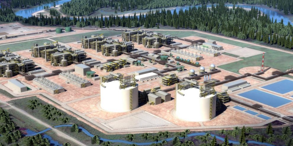 LNG Canada investor Petronas signs gas supply deal with